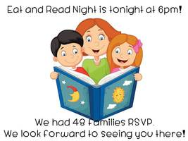 Eat and Read Night