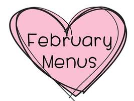 February Elementary Breakfast and Lunch Menu