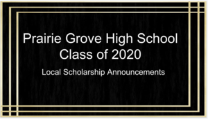 PGHS Class of 2020 Local Scholarship Winners